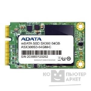 накопитель A-data 64GB SSD XPG Series SX300 mSATA [ASX300S3-64GM-C]