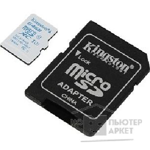 Карта памяти  Kingston Micro SecureDigital 64Gb  SDCAC/ 64GB