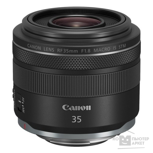 Объектив Canon RF IS STM (2973C005) 35мм f/1.8 Macro черный/Canon 2973C005 2973C005