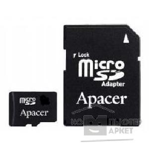 Карта памяти  Apacer Micro SecureDigital 1Gb  + адаптер