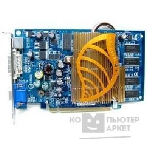 Видеокарта Gigabyte GV-NX66L128DP, OEM GF 6600LE, 128Mb DDR, TV-OUT, DVI  PCI-E