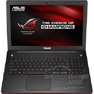 "Ноутбук Asus G550JK-CN349D 15.6"" 1920x1080 / Intel Core i7 4710HQ 2.5Ghz / 8192Mb/ 1000Gb/ DVDrw/ Ext:nVidia GeForce GTX850M 4096Mb / Cam/ BT/ WiFi/ 50WHr/ war 1y/ 2.6kg/ black/ DOS 90NB04L3-M05870"