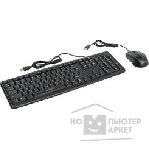 Клавиатура Oklick 600M black USB, Клавиатура + мышь [337142]