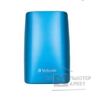 носители информации Verbatim HDD 500Gb  USB2.0 Portable HDD [47643/ 53011] Caribbean Blue