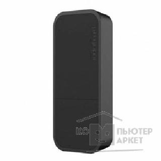 Сетевое оборудование Mikrotik wAP RBwAP2nD-BE wAP Black  Беспроводная точка доступа 1UTP 10/ 100Mbps, 802.11b/ g/ n, 2dBi