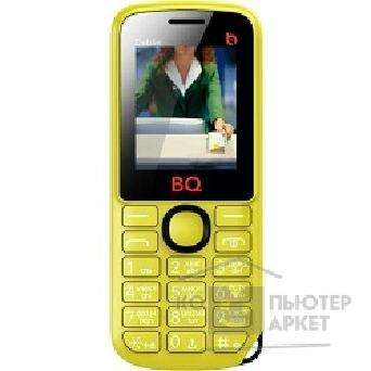 "BQ ��������� ������� M-1818 Dublin Yellow 1.8"",������,������ 32 ��, ���� microSD,Bluetooth,MP3-�����, �����"