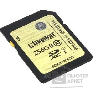 Карта памяти  Kingston SecureDigital 256Gb  SDA10/ 256GB
