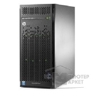 Hp Сервер  ProLiant ML110 Gen9 E5-2603v4 6C 1.7GHz, 1x8GB-R DDR4-2400T, B140i/ ZM RAID 1+0/ 5/ 5+0 noHDD 4 LFF 3.5'' N 1x350W N NonRPS up2x750W Gold , 2x1Gb/ s,noDVD,iLO4.2, Tower-5U 838502-421