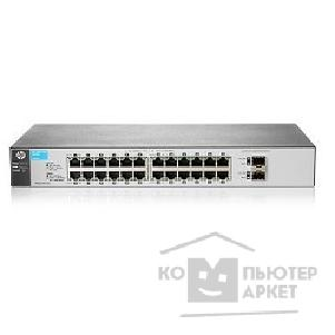Сетевое оборудование Hp J9803A  1810-24G Switch WEB-Managed, 24*10/ 100/ 1000 +2 SFP, Fanless design, 19""