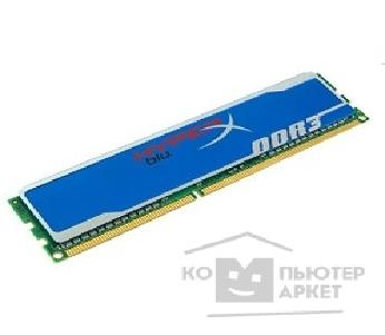 Модуль памяти Kingston DDR3 DIMM 8GB PC3-12800 1600MHz KHX1600C10D3B1/ 8G HyperX Blu CL10