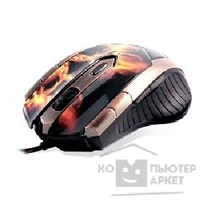 Мышь Crown Gaming CMXG-607, fire [CM000001224]