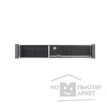 Корпус Chenbro RM24100-L2, BK CC1012,LOW PROFILE REAR WINDOW,W/ TWO DOOR+FAN+PS2 PSU BKT,SINGLE ,SR/ SK   RM24100H01*13054
