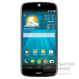 Мобильный телефон Acer Liquid Jade/ S55 Black Dual Sim Android KitKat4.4; 5'HD Corilla glass 3 1280*720; QuadCore 1.3; 1Гб; 8Гб; MicroSD до 32Гб; 13Мп+2Мп; BT4.0. [HM.HGDEU.001]