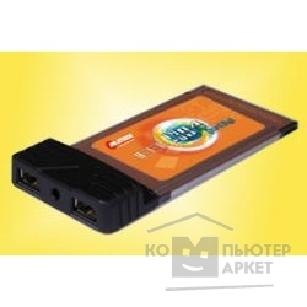 Контроллер Rover Computers Pilotech 2-Port 1394b CardBus PC Card  F011TBA