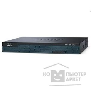 Сетевое оборудование Cisco 1921/ K9 C1921 Modular Router, 2 GE, 2 EHWIC slots, 512DRAM, IP Base with IOS UNIVERSAL – NPE
