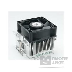 Glacialtech Сooler   Igloo 2450 Light белая коробка  for Socket 370/ 462 20dBA