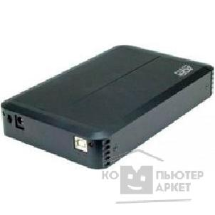 "Контейнер для HDD AgeStar Внешний корпус  SUB3O8 usb2.0 to 3,5""hdd SATA алюминий 09689"