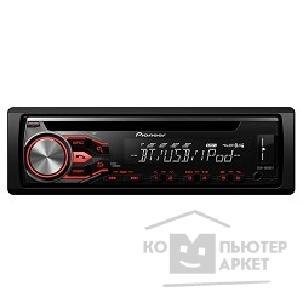 Pioneer Автомагнитола  DEH-4800BT, 1 DIN, CD/ USB/ AUX/ iPod/ iPhone/ iPad/ Android, Bluetooth