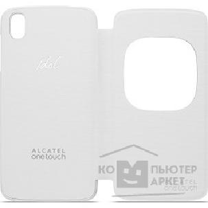 Alcatel  Чехол для IDOL 3 4.7  FlipCover white 6039