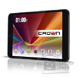 "Crown �������  CM-B855 3G, Black-metal, 8"" IPS, Quad- Core MTK8389 1.2GHz*4, 1Gb,8Gb, WiFi, GPS,Bluetooth"