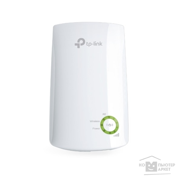 Сетевое оборудование Tp-link TL-WA854RE 300Mbps Wireless N Wall Plugged Range Extender, Atheros, 2T2R, 2.4GHz, 802.11n/ g/ b, Ranger Extender button, Range extender mode, with internal Antennas,without Ethernet Port