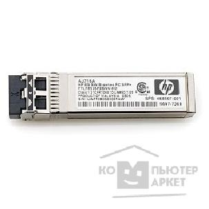������� ������������ Hp AJ716B  8Gb Short Wave B-Series SFP+ 1 Pack