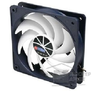 Вентилятор Titan Case fan  92x92x25mm [TFD-9225H12ZP/ KU RB ] 4pin, 10-25db, 900-2600rpm, 126g, Z-AXIS