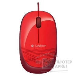 Мышь Logitech 910-003118  Mouse M105 Optical Mouse USB Red Ret