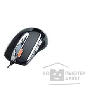 Мышь A-4Tech A4Tech X-718F -1  black UP, USB+PS/ 2, 6кн, 1кл-кн