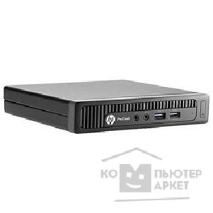 Hp Системный блок  ProDesk 600 mini Intel Core i5-4570T, 4Gb, 500Gb, клавиатура + мышь, Win7+ Win8.1 Professional, черный J1A03AW