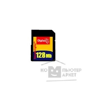 Карта памяти  Digitex SecureDigital 128Mb   FMSD-0128