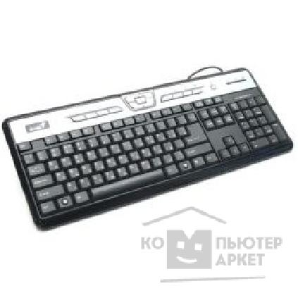 Клавиатура Genius Keyboard  Slim Star 311 Black  PS/ 2, Multimedia  Водонепроницаемая