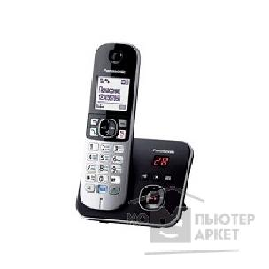 Беспроводной DECT телефон Panasonic KX-TG6821RUB Черный