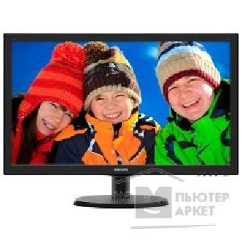 "Монитор Philips LCD  21.5"" 223V5LHSB 00/ 01 Glossy-Black TN LED 5ms 16:9 HDMI 10M:1 250cd"