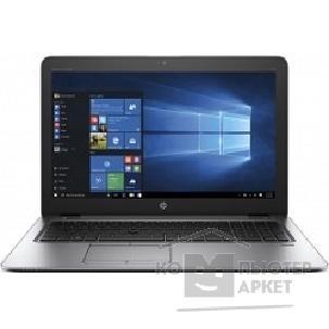 "Ноутбук Hp EliteBook 850 G3 15.6"" 1920x1080 матовый / Intel Core i5 6200U 2.3Ghz / 4096Mb/ 500Gb/ noDVD/ Int:Intel HD Graphics 520/ Cam/ BT/ WiFi/ 45WHr/ war 3y/ 1.86kg/ silver/ black metal/ W7Pro + W10Pro key + USB-C"