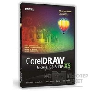 Программное обеспечение Corel DRAW Graphics Suite X5 License Media