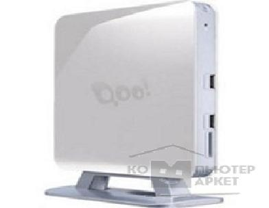 Компьютер 3Q Nettop Qoo! White/ Atom D2560/ 2.00 GHz/ NM10/ Wi-Fi/ HDMI/ D-SUB/ Card Reader/ Vesa Mount/ 2GB/ 320GB/ MeeGo [68978]