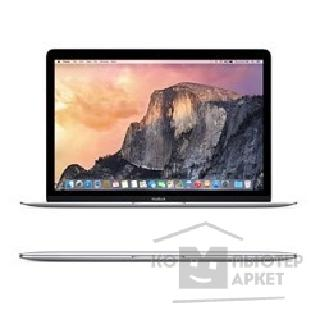 "Ноутбук Apple MacBook Z0QS0001V, MF855C1RU/ A Silver 12"" Retina 2304x1440 Intel Core M-5Y71 1.3GHz TB 2.9GHz / 8GB/ 256GB SSD/ HD Graphics 5300/ USB-C Early 2015"
