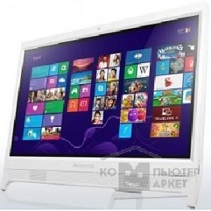 "Моноблок Lenovo IdeaCentre C260 [57331988] white 19.5"" HD+ Cel J1900/ 4Gb/ 500Gb/ DVDRW/ W10/ k+m"