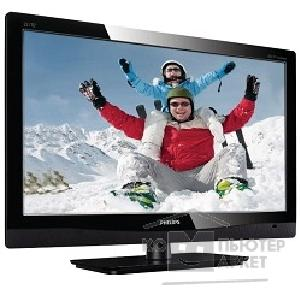 "Монитор Philips LCD  21.5"" 221TE4LB/ 00 Black ТВ/ МОНИТОР LED, LCD, Wide, 1920x1080, 5 ms, 170°/ 160°, 250 cd/ m, 20M:1, +TV-tuner, +MM"