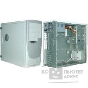 Корпус Inwin MidiTower  S-506T Warm grey 350W 12V AirDuck +FAN ATX [1178173]