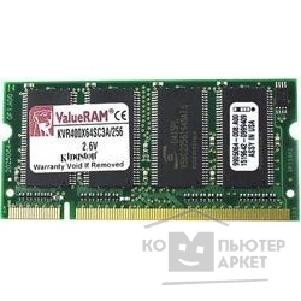 Модуль памяти Kingston DDR 1Gb PC-3200 SO-DIMM [KVR400X64SC3A/ 1Gb]