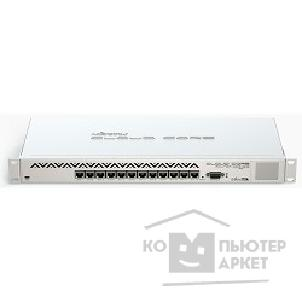 ������� ������������ Mikrotik CCR1016-12G Cloud Core Router ������������� 12 10/ 100/ 1000 Mbit/ s Gigabit Ethernet with Auto-MDI/ X; Tilera Tile-Gx16; 2GB RAM; OS: L6