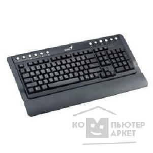 Клавиатура Genius Keyboard  KB 220 Black, PS/ 2 Multimedia, 12 доп. клавиш