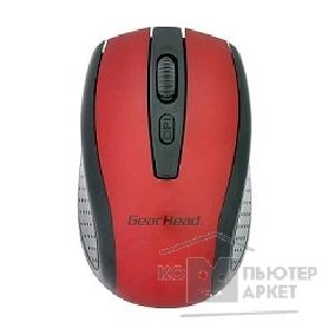 Мышь Gearhead MOUSE USB OPTICAL WRL/ RED MP2225REDR