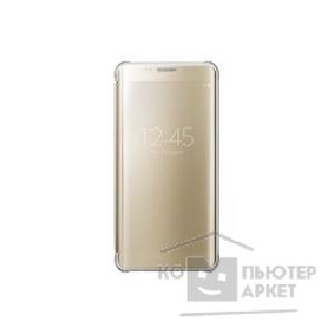 Samsung Чехол для  Galaxy S6 Edge+  ClearView gold SAM-EF-ZG928CFEGRU