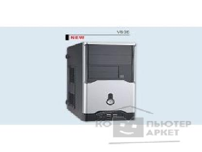 Корпус Inwin Mini Tower  V-606BS AD 300W 12V USB+Audio ATX [1161282]