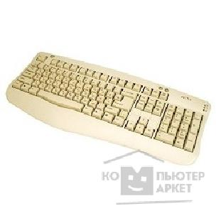 Клавиатура Oklick 340M LITE Standard Keyboard PS/ 2  белый