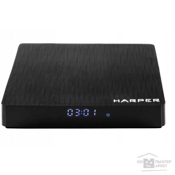 HARPER ABX-332 черный {Amlogic S912 Octa-Core 64-bit ARM Cortex-A53 2GHZ; Оперативная память: 3GB DDR3; Постоянная память: 32GB eMMC; WiFi: WiFi: 2.4G+5G 802.11ac}/Harper ABX-332 ABX-332