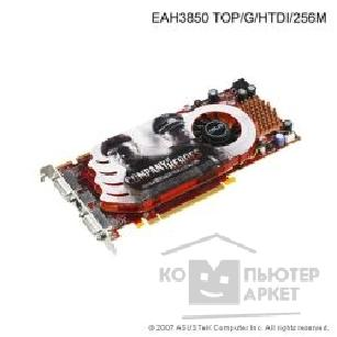 Видеокарта Asus TeK EAH3850 TOP/ G/ HTDI 512Mb, ATI RADEON HD3850 Dual DVI, HDMI, HDTV-out PCI-E
